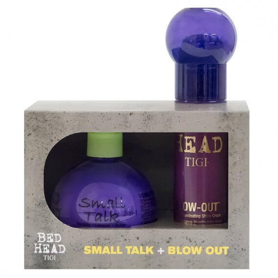 TIGI Bed Head Small Talk & Blow Out Duo Pack