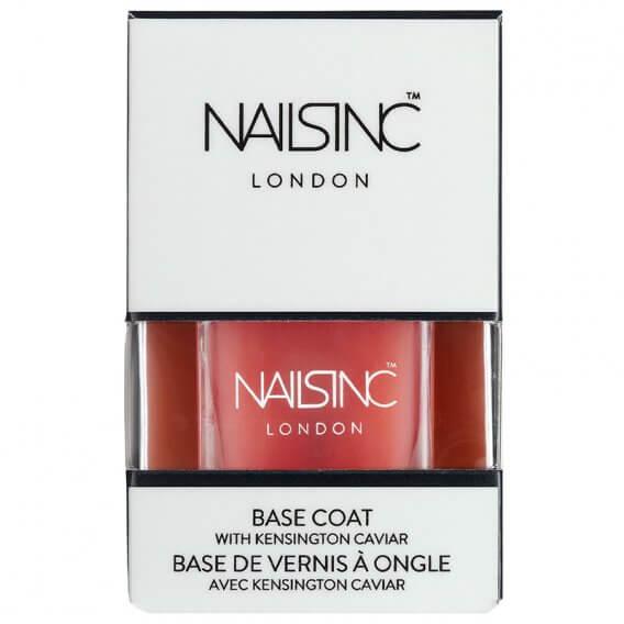 Nails Inc Base Coat With Kensington Caviar Nail Polish 14ml