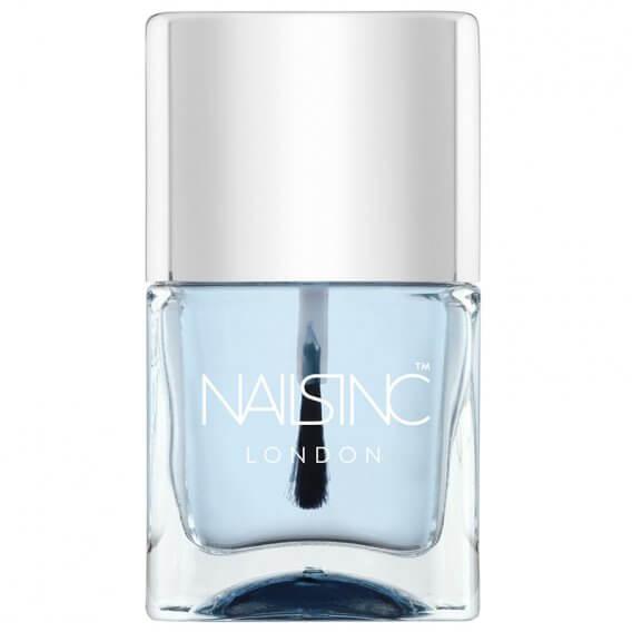 Nails Inc Gel Effect Top Coat With Kensington Caviar Nail Polish 14ml