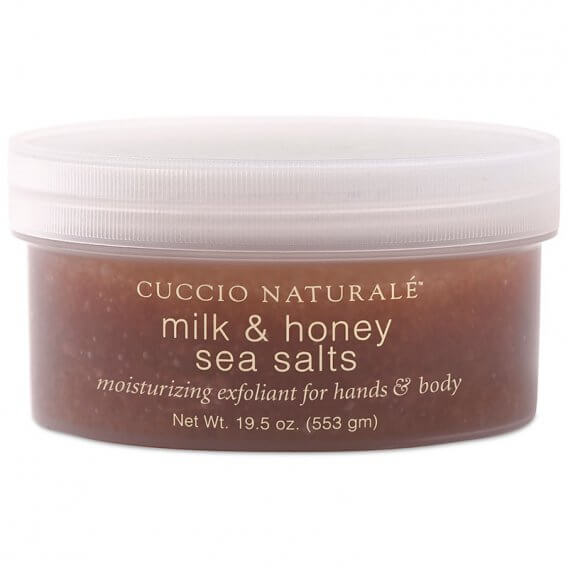 Cuccio Naturale Milk & Honey Sea Salts Hand & Body 553g(19.5oz)