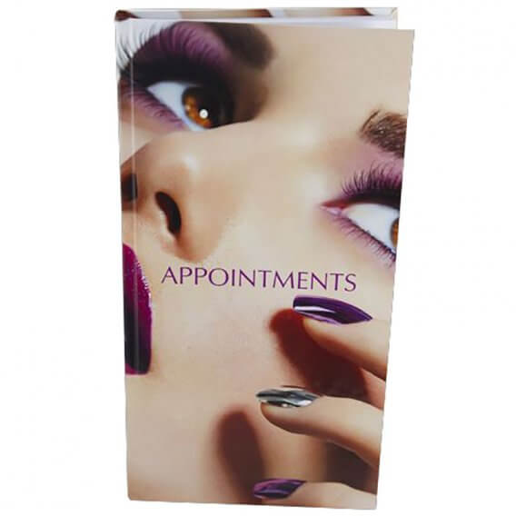 Appointment Book 3 Column Nails