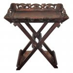 Spa Essentials Carved Butlers Tray