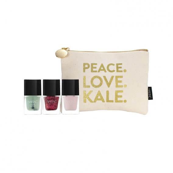 Nails Inc Hero Gift Set Peace. Love. Kale.