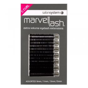 Marvel-Lash Lashes Silky C Curl x 2960 by Salon System
