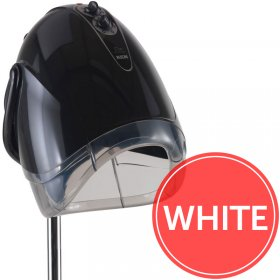 REM Elan Next Generation White Couch Hood Dryer With Pole
