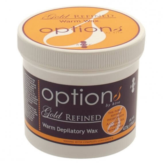 Options by Hive Gold Refined Warm Wax 425g