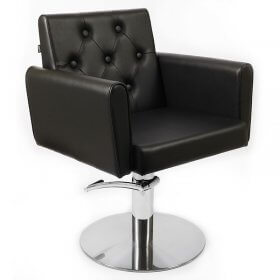 Lotus Eton Styling Chair Black Round Base