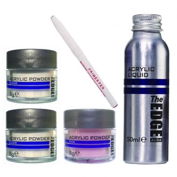 The Edge Acrylic Powder + Liquid Trial Pack