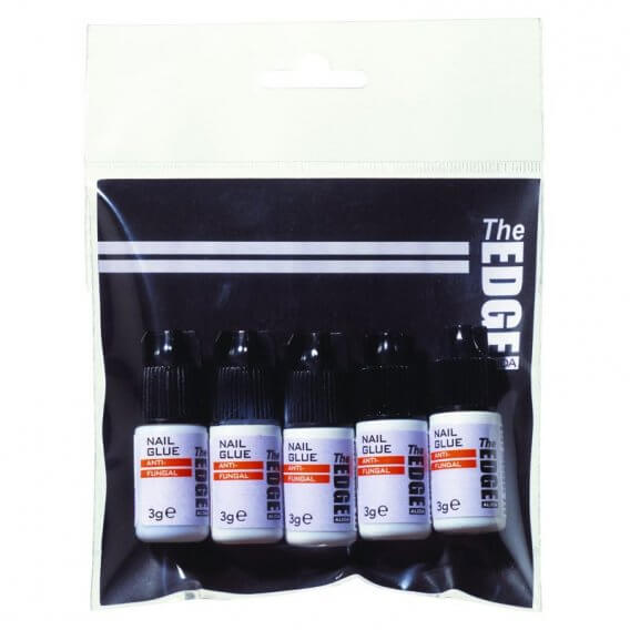The Edge Nail Glue (Anti-Fungal) 3g 5 pack