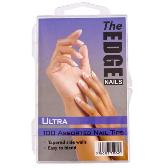 The Edge Ultra Tips x 100 Assorted (Boxed)