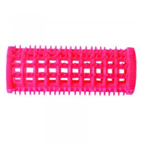 Plastic Comb Rollers 25mm Pink (5)