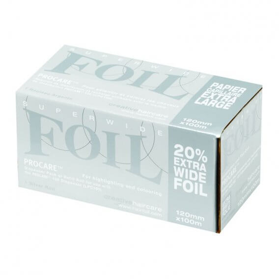 Procare Superwide Foil Refills Silver 120mm x 100m