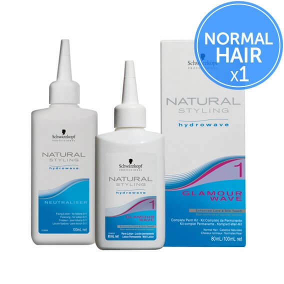 Schwarzkopf Natural Styling Hydrowave Glamour Wave 1 Single Perm