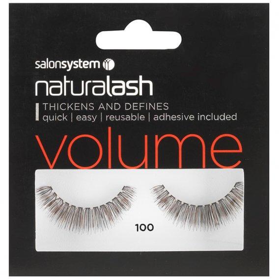 Salon System Naturalash Strip Lashes 100 Black
