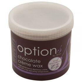 Options by Hive Chocolate Creme Wax 425g