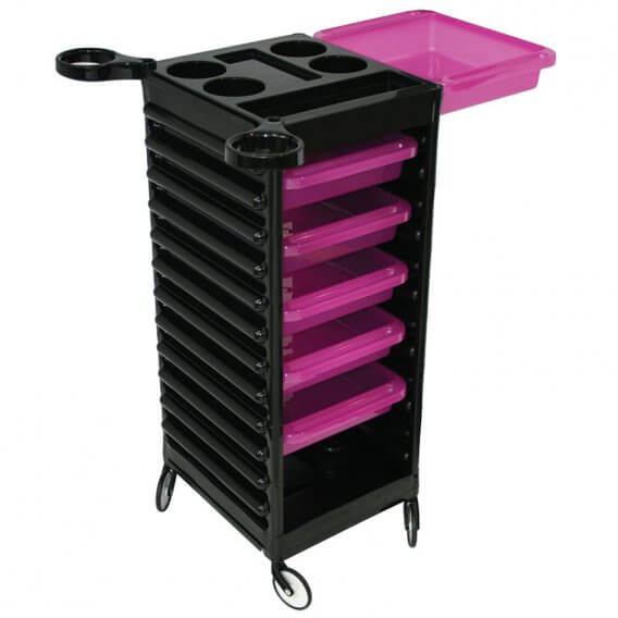 Easy Colour Trolley Black & Purple