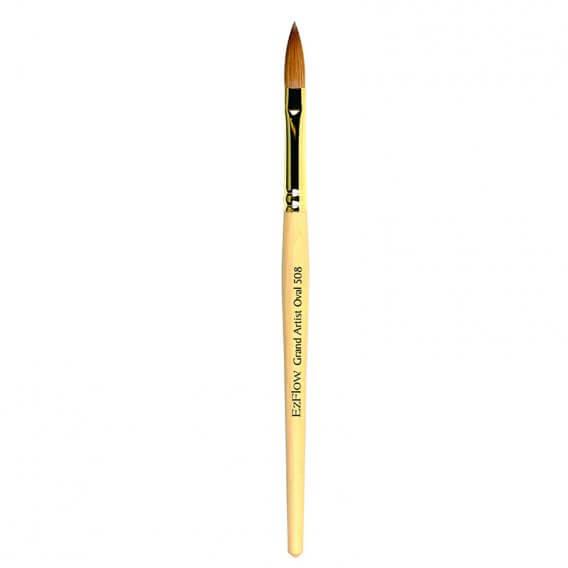 EzFlow Grand Aritist Oval 508 Brush & Cover
