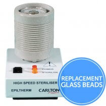 Replacement Glass Beads for Epiltherm 120g Steriliser