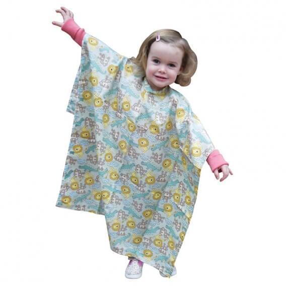 Lotus Zoo Pattern Children's Gown