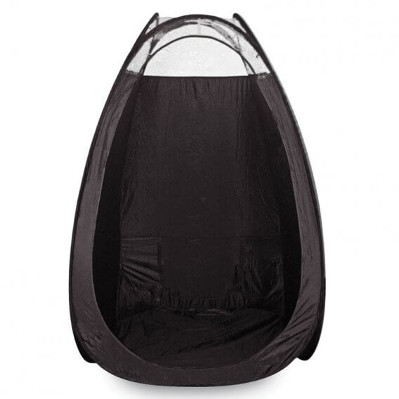 CRAZY ANGEL Black Tanning Tent