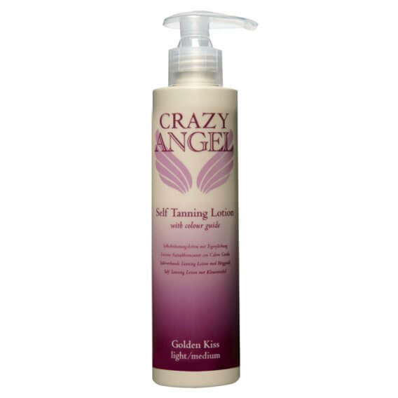 CRAZY ANGEL Golden Kiss Tanning Lotion 5% 200ml