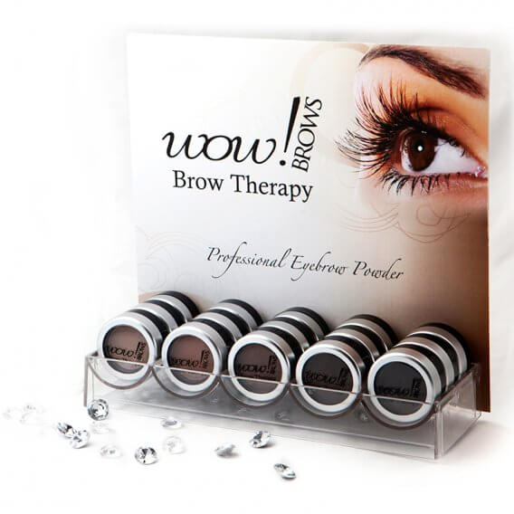 Wow! Brows Small Start Up Package with Display Stand