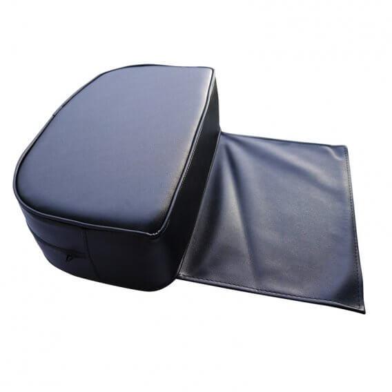 Black PVC Child Cushion Seat