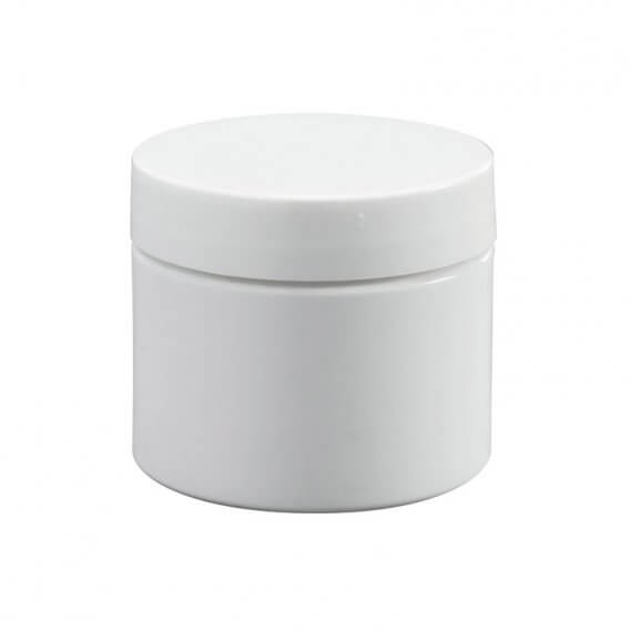 White Jar with Lid 50ml