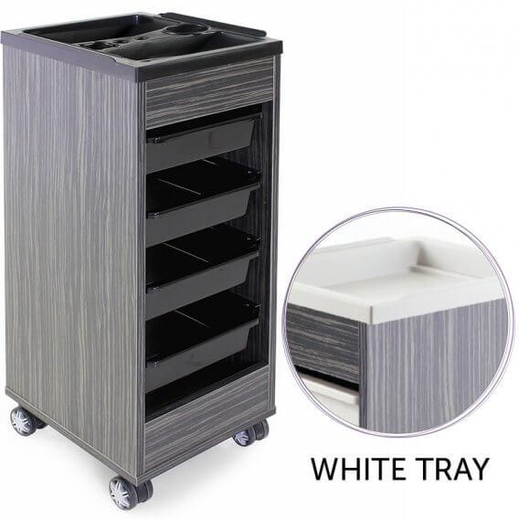REM Stadium Trolley Twilight with White Flat Top & Trays