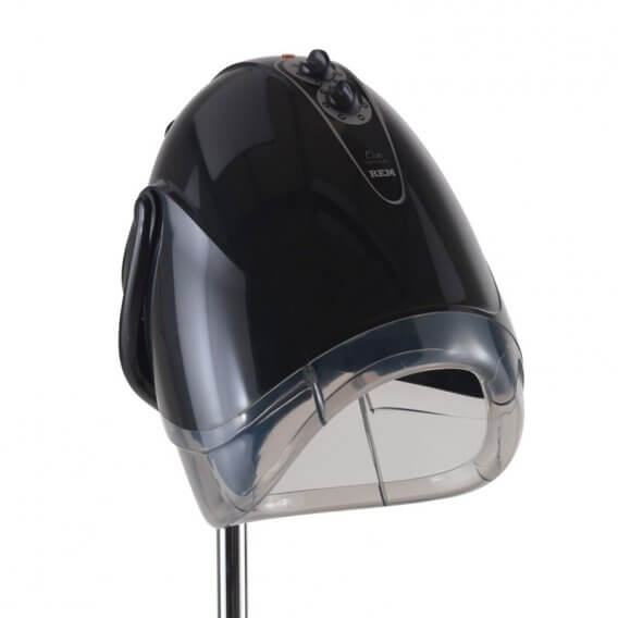 REM Elan Next Generation Black Couch Hood Dryer With Pole