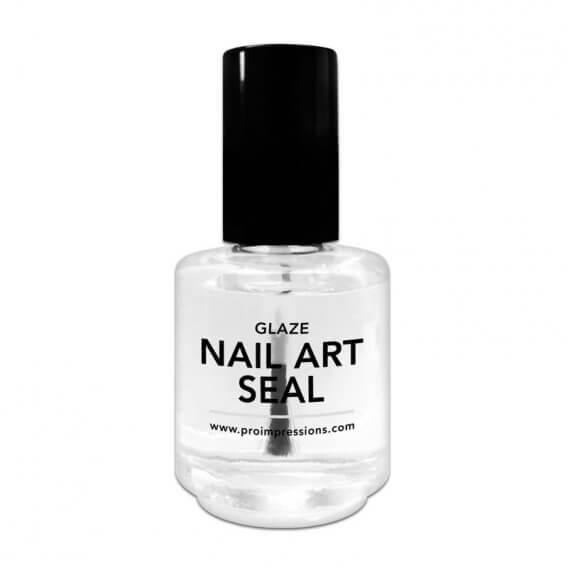 Pro Impressions Glaze Nail Art Seal 15ml