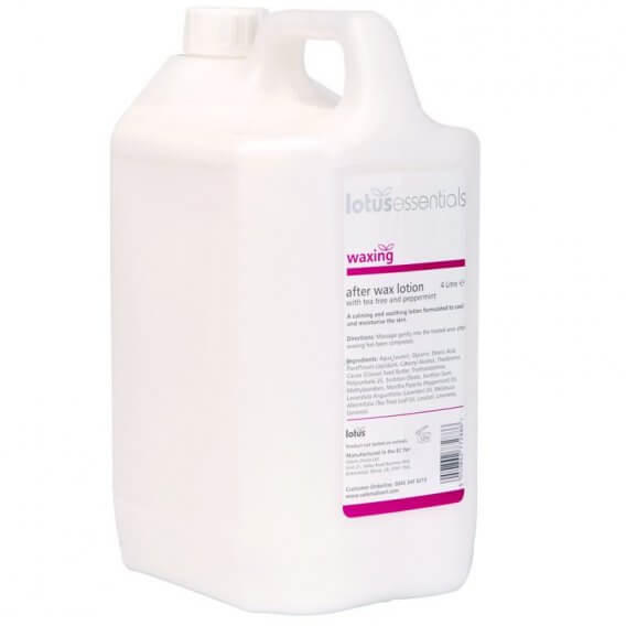 Lotus Essentials After Wax Lotion 4L