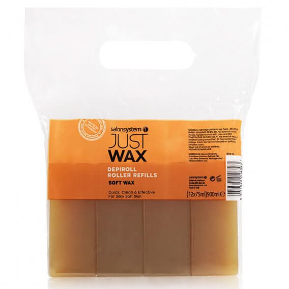 Just Wax DepiRoll Wax Roller Refill (75ml x12)