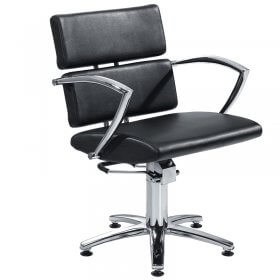 Lotus New York Hydraulic Styling Chair Black