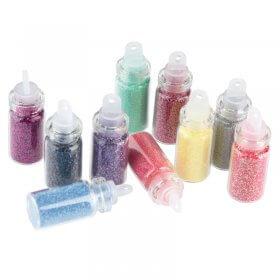Sibel Nail Glitter Dust Kit 1 Pack of 10
