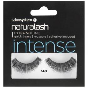 Salon System Naturalash Strip Lashes 140 Intense Black