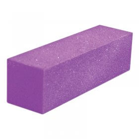Lotus Essentials Purple Glitter Sanding Block x 1