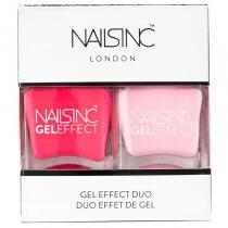 Nails Inc Gel Effect Duo Berkeley Street/Chiltern Street Nail Polish 14ml Version 2