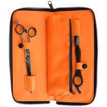 DMI Barber Scissor 6.5in , Razor & Pouch