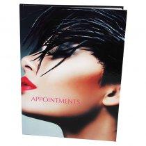 Appointment Book 6 Column Dark
