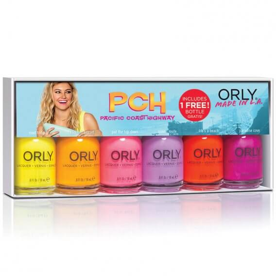 Orly Pacific Coast Highway Collection 6 Piece Kit