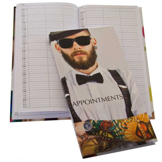 Appointment Book 3 Column Barber