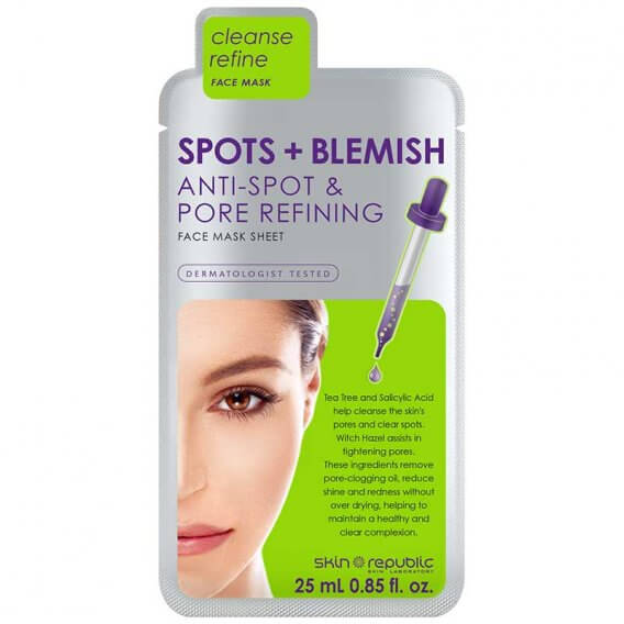 Skin Republic Spots & Blemish Face Mask 25ml