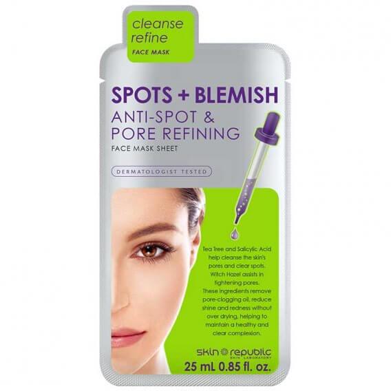 Skin Republic Spots & Blemish Face Mask 25ml Pack of 10