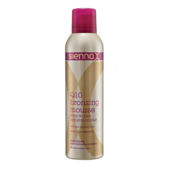 Sienna X Q10 Bronzing Mousse 250ml
