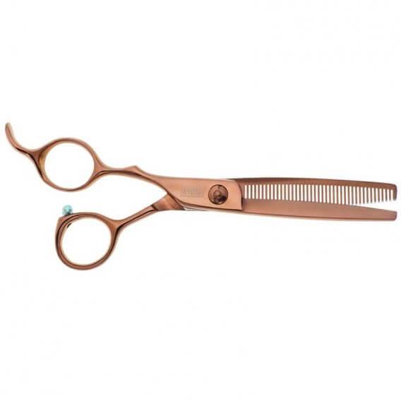 Kyoto Rose Left Handed 40 Teeth Thinning Scissor