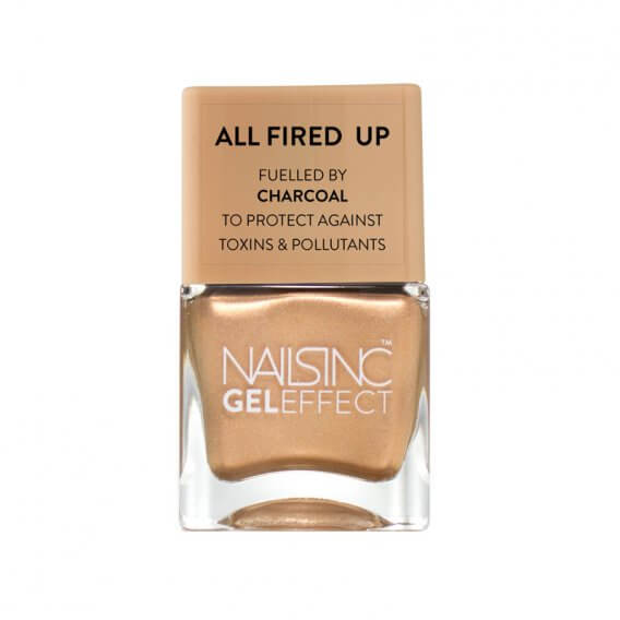 Nails Inc Crown Place Gel Effect Nail Polish All Fired Up 14ml