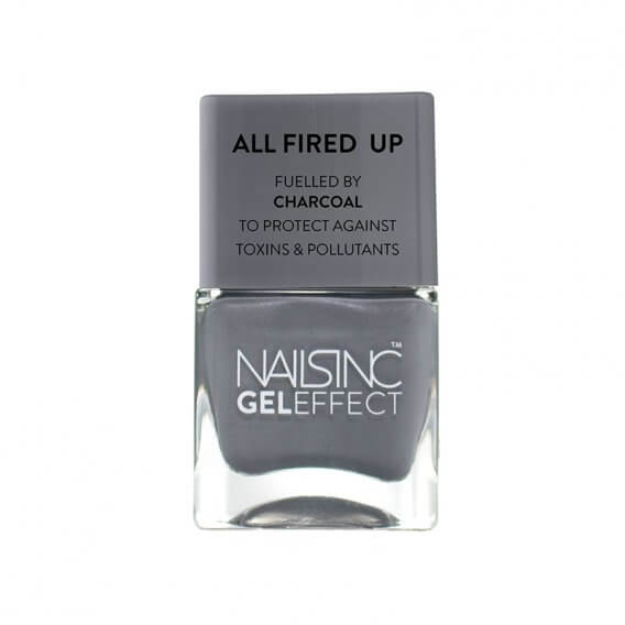 Nails Inc Spencer Street Gel Effect Nail Polish All Fired Up 14ml