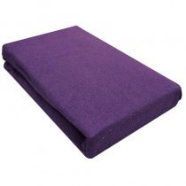 Aztec Classic Couch Cover With Face Hole Purple