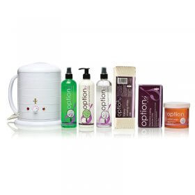 Options by Hive Warm Honey Wax Pack + 1000cc Heater